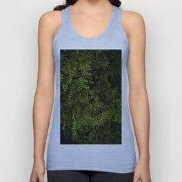 Small leaves Unisex Tank Top