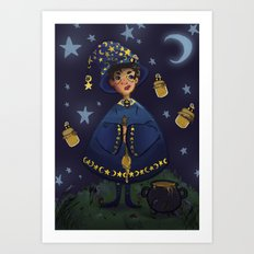 Magic Honey Art Print