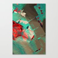 geo Canvas Prints featuring Geo by Zephyr
