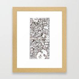 People-B Framed Art Print
