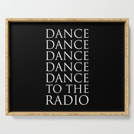Dance Serving Tray