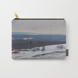Wintertime in the Country Carry-All Pouch