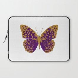 Purple Butterfly Laptop Sleeve