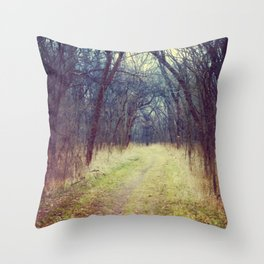 The Woods Are Lovely, Dark and Deep...  Throw Pillow