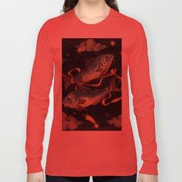 Zodiac sign Pisces Long Sleeve T-shirt