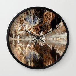 "Cave (""Fairy Kingdom,"" the Saalfeld Fairy Grottoes) Wall Clock"
