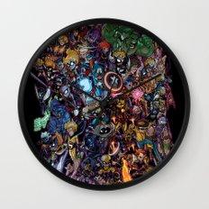 Lil' Marvels Wall Clock