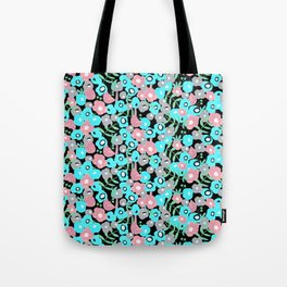 Ditsy Bloom in the night Tote Bag