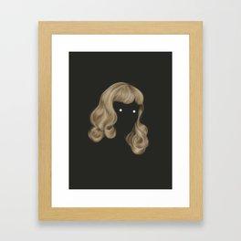 Eyes Wide Framed Art Print