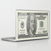 the 100 Laptop & iPad Skins featuring 100$ by Dano77