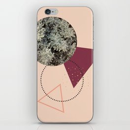 Golden Snow #society6 #decor #pink iPhone Skin