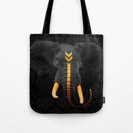 Elephant King Tote Bag