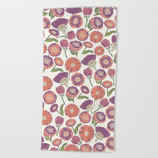 Our Florals Beach Towel