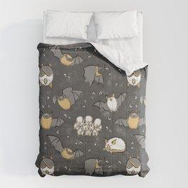 Pipistrelle and Honduran Bats Comforters