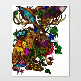 The March Hare Canvas Print