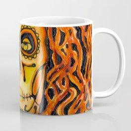 Autumnal Dia de los Muertos Coffee Mug