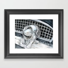 55 Thunderbird Classic Car Framed Art Print