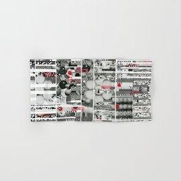 Runner Request (P/D3 Glitch Collage Studies) Hand & Bath Towel