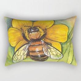 The Bees Needs Rectangular Pillow