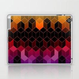 Rainbow Cubes Laptop & iPad Skin
