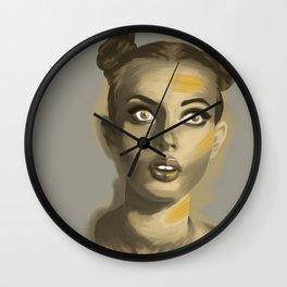 Moutarde au nez Wall Clock