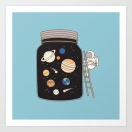 confined space Art Print