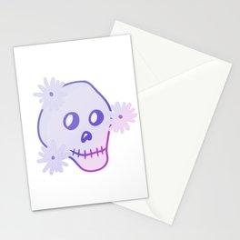 Gradient Skull  Stationery Cards