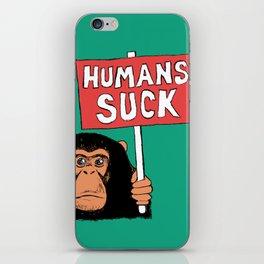 Chimp: Humans Suck iPhone Skin