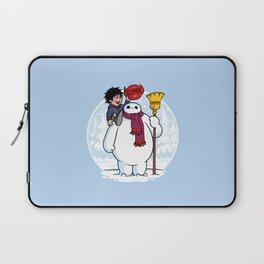 Inflatable Snowman Laptop Sleeve