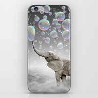 helen iPhone & iPod Skins featuring The Simple Things Are the Most Extraordinary (Elephant-Size Dreams) by soaring anchor designs
