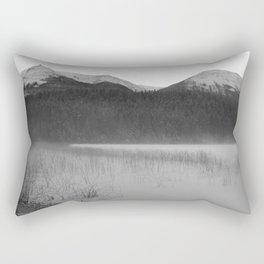 Cabin Lake Rectangular Pillow