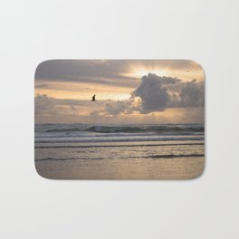 Heavens Rejoice - Ocean Photography Bath Mat