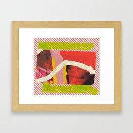 Red Rec  Framed Art Print