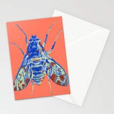 Tiger Bee Fly 2 Stationery Cards