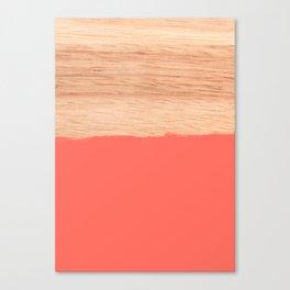 Sorbet - Coral Canvas Print