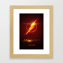 The Flash Movie Poster Framed Art Print