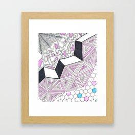 Geometric Design Framed Art Print