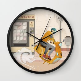Vending Machine Wall Clock