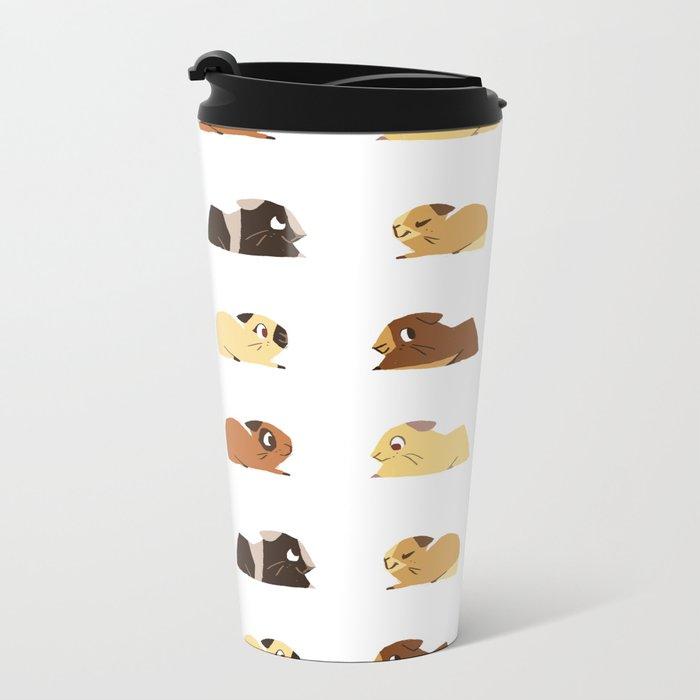 Guinea pigs Metal Travel Mug