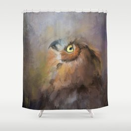 I Wonder Shower Curtain