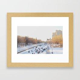 Canada's Rideau Canal Framed Art Print