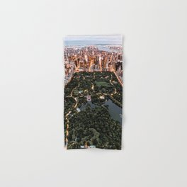 Central Park New York Hand & Bath Towel