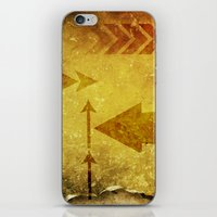 arrows iPhone & iPod Skins featuring Arrows by Leah M. Gunther Photography & Design