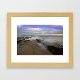 La Jolla San Diego CA Version 2 Framed Art Print