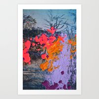 new jersey Art Prints featuring New Jersey by Aniko Gajdocsi