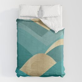 Mountains of Chiusa Comforters