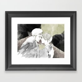 Jane Eyre Editorial #1 Framed Art Print