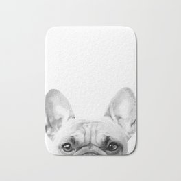 Bruno The French Bulldog Bath Mat
