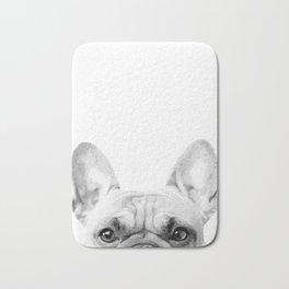 Bruno The French Bulldog Bath Mat