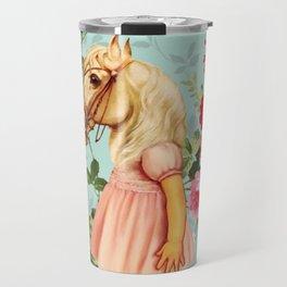 Pony Girl Travel Mug